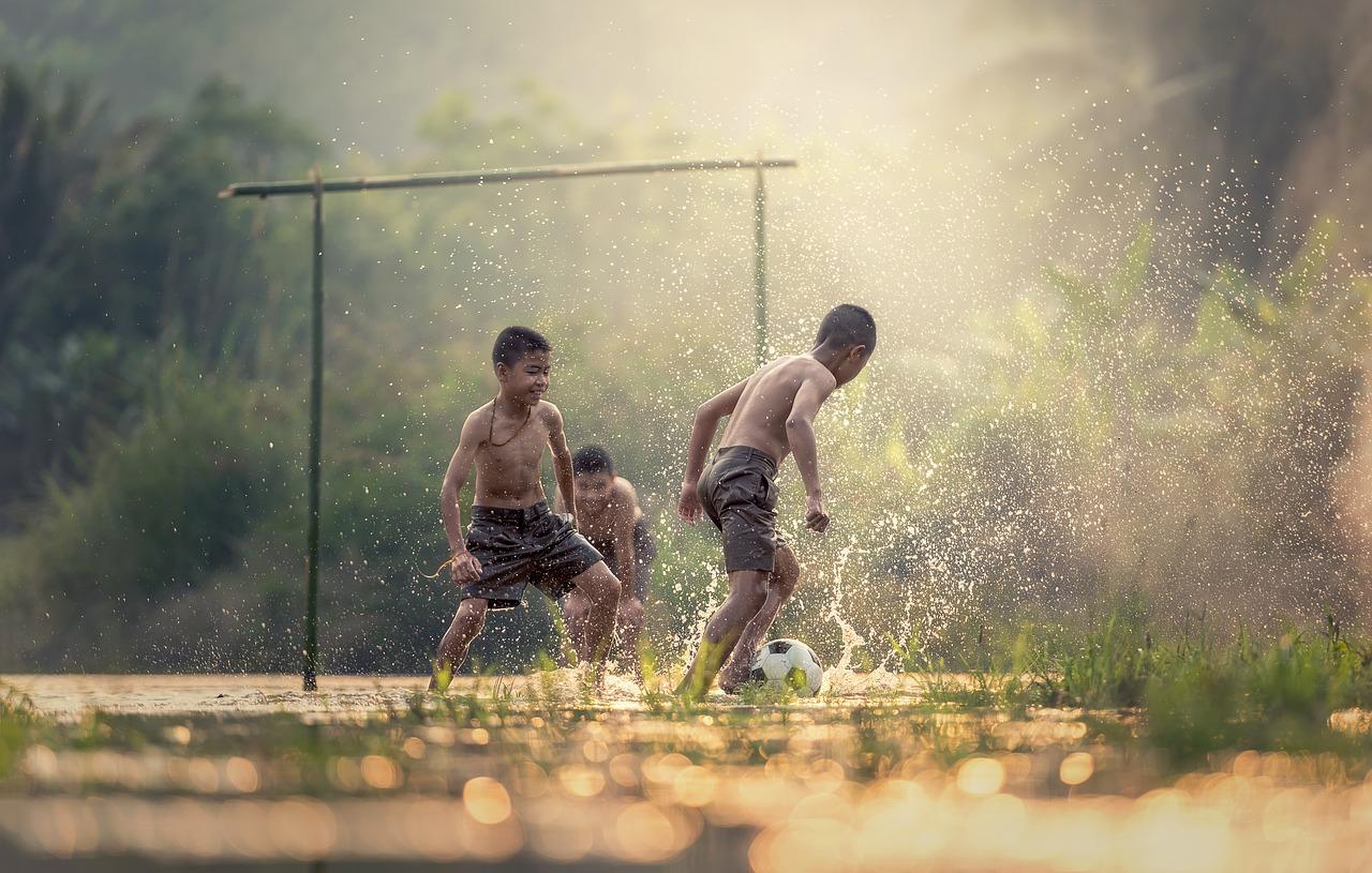 O esporte colabora com a redução da pobreza